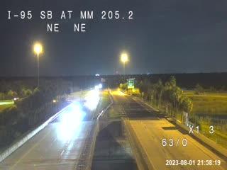 I-95 SB @ MM 205.2