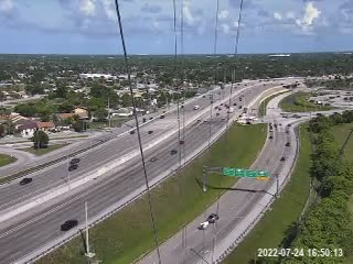 Traffic at HEFT - Coral Reef Dr/SW 117th Ave