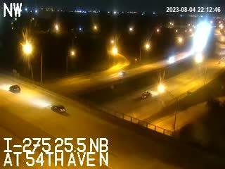 I-275 at 54th
