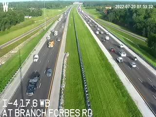 I-4 at Branch Forbes Rd.