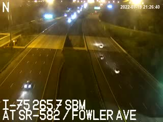 I-75 at SR-582 / Fowler