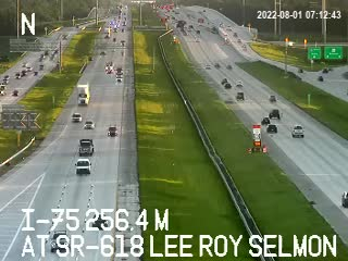 I-75 at SR-618 Lee Roy Selmon