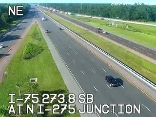 I-75 N of I-275 Junction